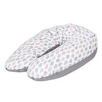Ceba. Подушка  для кормления Ceba Baby Multi Clouds трикотаж   (8971173)
