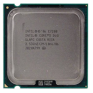 "Процессор Intel Core 2 Duo E7200 Б\У ""Over-Stock"""