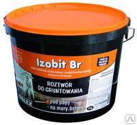 Битумно-каучуковая мастика-Праймер Изобит БР/ Izobit BR(4.5кг)