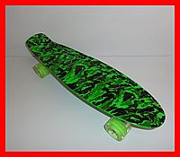 Пенни борд 24 Penny Board Зеленый, фото 1