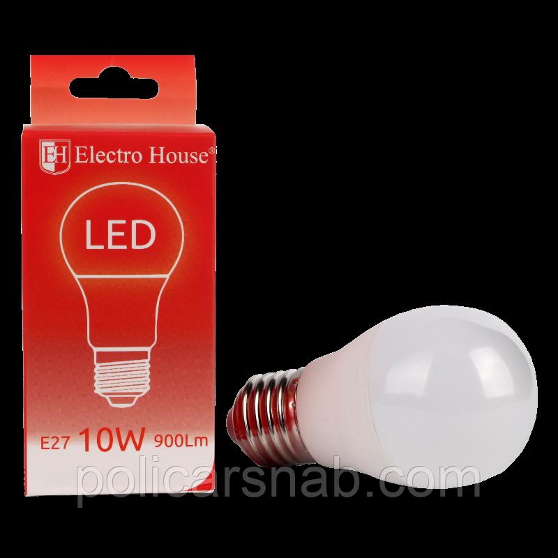 ElectroHouse LED лампа E27 10W