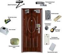 Система контроля и учёта рабочего времени (к-т на одну дверь прохода)