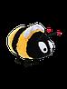 Игрушка мягкая пчелка Милисса