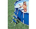Лестница для бассейна 91 см Intex 28060, фото 3