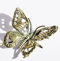 Коллекционная скульптура,Бабочка! Серебро!Германия