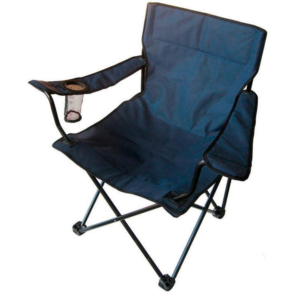 """Складной стул для пикника и рыбалки """"Паук"""" с подстаканником Chair -2 with Arm"""
