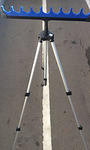 Подставка для удочек с телескоп треногой 1.8м 9секц