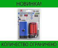 BL-408 фонарик для велосипеда аккумуляторный!Розница и Опт