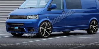 Накладки на пороги тюнинг обвес Volkswagen T5