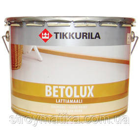 Фарба для підлоги ТІККУРІЛА БЕТОЛЮКС (TIKKURILA BETOLUX)