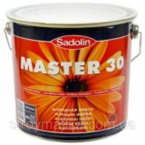 Краска для дерева и металла SADOLIN MASTER 30 (Садолин Мастер 30) - «СТРОЙМАТИКА» в Харькове