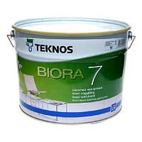 Краска водоэмульсионная Текнос Биора 7 для стен и потолков
