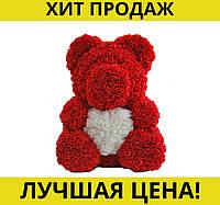 Мишка из искусственный роз (40 см)