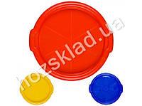 Поднос круглый пластиковый D35см (цвета ассорти)