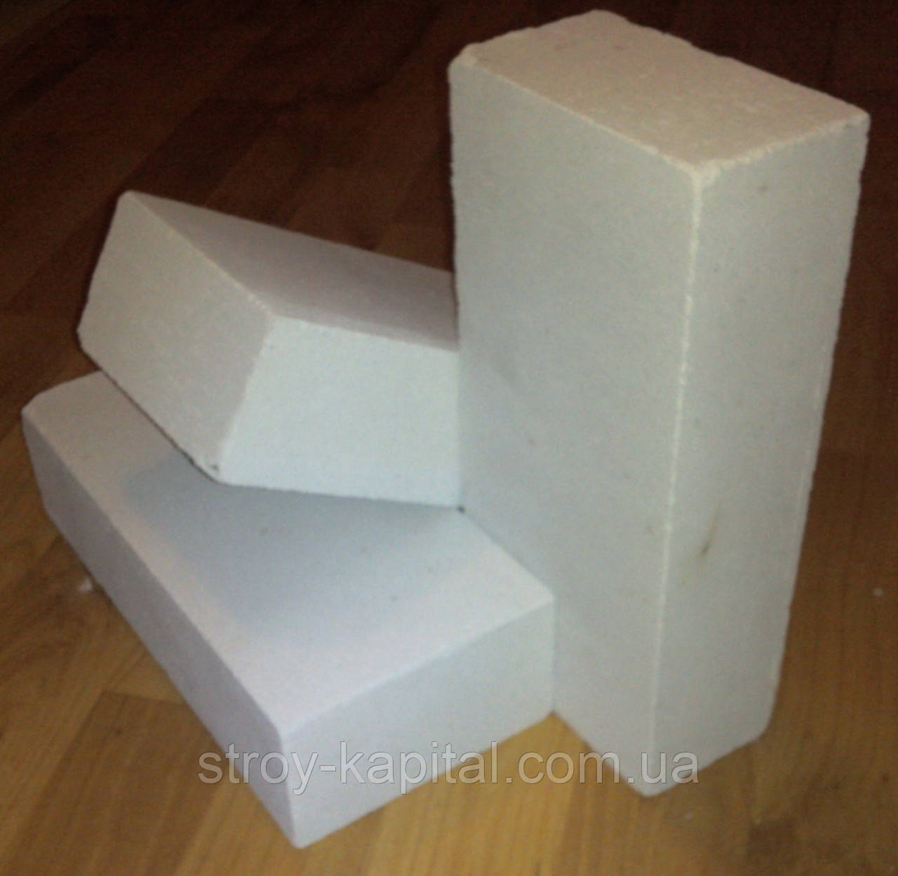 Кирпич белый силикатный