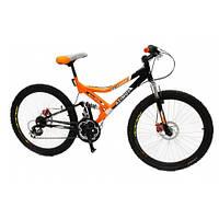 """Горный двухподвесный велосипед Azimut Redhawk 24"""" GD"""