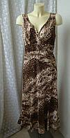 Платье женское легкое лето макси бренд Pomodoro р.50, фото 1
