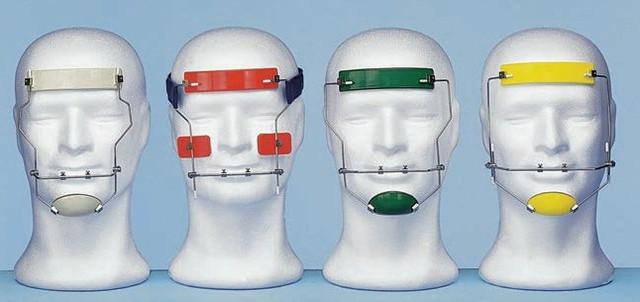 Лицеві маски двоосні