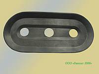 Уплотнитель съемный резиновый плоской присоски 190х90х20 мм типа BSP для оборудования фирмы Lisec (Австрия)