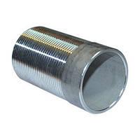 Резьба стальная приварная длинная ДУ 40 L 75mm