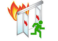 Фурнитура аварийного выхода для автоматических Противопожарных дверей Антипаника Dorma SST BR