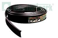 Бордюр садовый пластиковый Кантри Б-1000.2.11-ПП черный