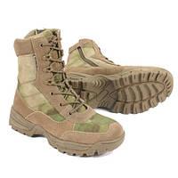 Тактические ботинки на молнии с утеплителем Thinsulate MilTec A-TACS FG 12822159