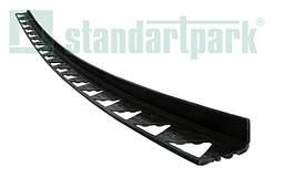 Бордюр пластиковый тротуарный чорный L 300