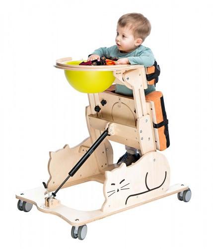 """Детский вертикализатор Котик 1 (CAT) AkcesMed (Польша)  - Медтехника """"Formed"""" — медицинское оборудование, хирургический инструмент, оборудование для инвалидов в Львове"""
