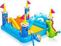 Надувной детский игровой центр Intex 57138 Замок 185х152x107 см