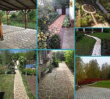 Фото садовых дорожек наших клиентов