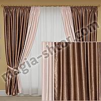 Готовые шторы в спальню, фото 1
