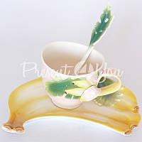 Подарочный набор 'Банан' : чашка, блюдце, ложка