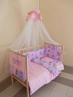 """Детский постельный набор  """"Малышка"""" тм  """"Baby Brok""""  8 эл., хлопок"""