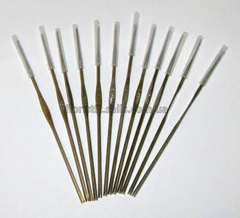 Набор крючков для вязания 12 шт. 1-2 мм