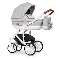 Детская коляска 2 в 1 Riko Naturo 01 Grey Fox