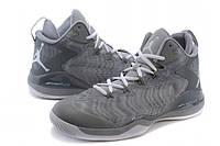 Баскетбольные кроссовки Nike SuperFly 3 серые