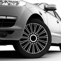 Колпаки на колеса Le Mans Pro Silver&Black  R14