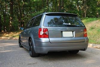 Спойлер VW Passat B5 Variant тюнинг стиль Votex