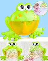 Музыкальная игрушка для ванны BK Toys лягушка мыльные пузыри