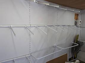 Дуга торговая в рейку овальная 1.0 м (б/у), фото 3