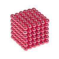 Неокуб красный   5 мм 216 шариков