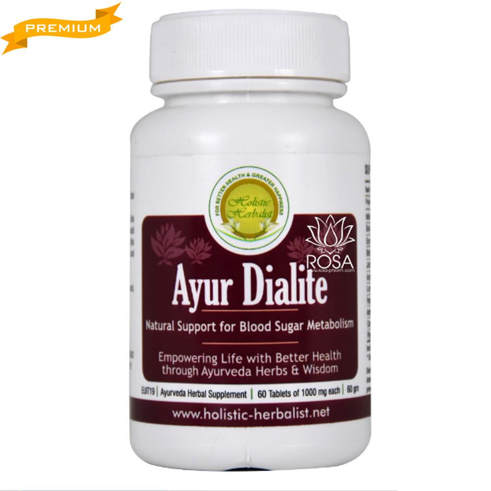 Аюр Дайлайт (Holistic Herbalist) - аюрведа премиум поддержка метаболизма сахара в крови, 60 таблеток