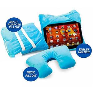 Подушка подставка трансформер для телефона 3в1 GoGo Pillow 150254