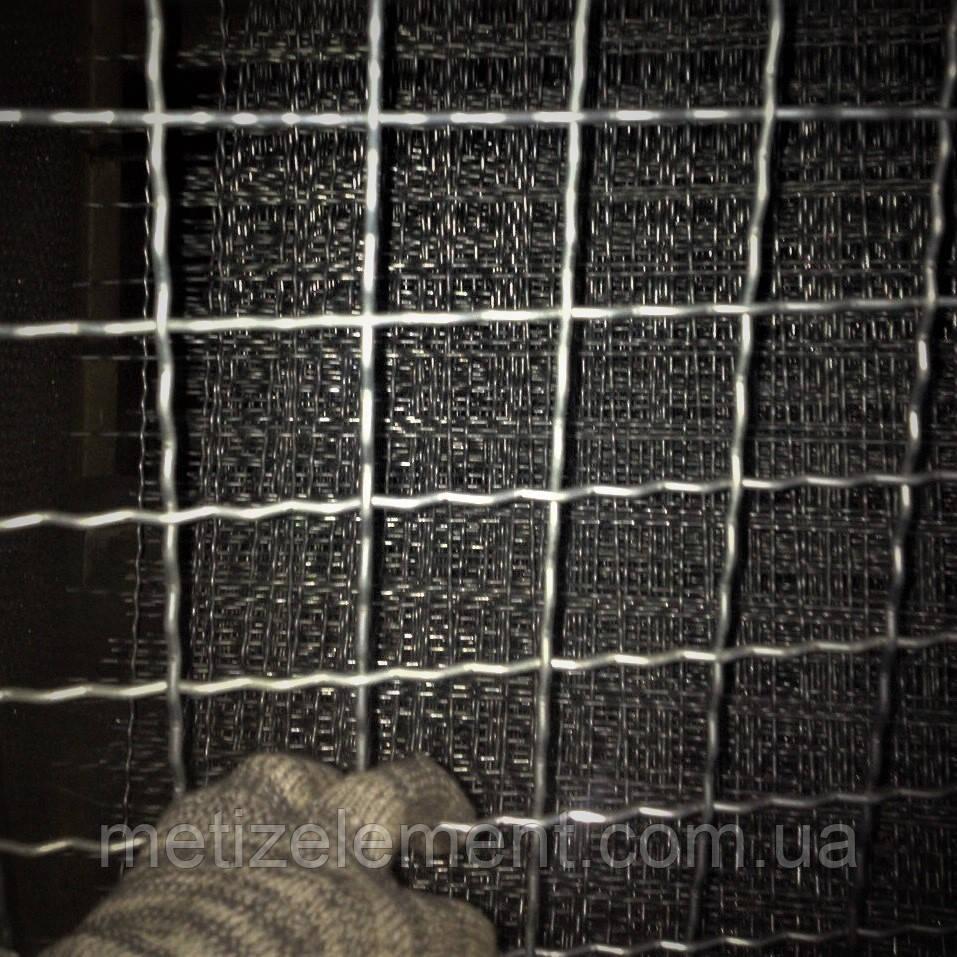 50x50x4,0 сетка канилированная оцинкованная