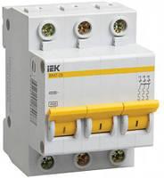 Автоматический выключатель ВА47-29 3Р 10А 4,5кА D ІЕК [MVA20-3-010-D] ИЕК