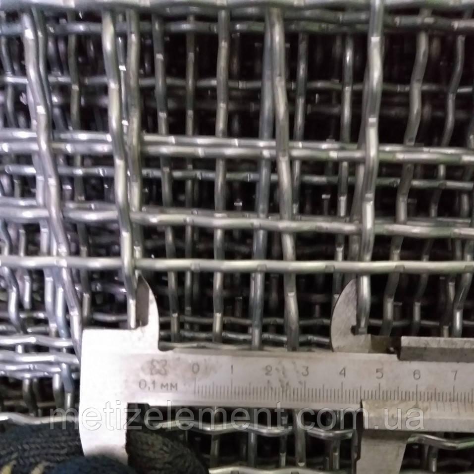 40x40x4,0 сетка канилированная оцинкованная