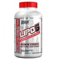 Жиросжигатель Nutrex Lipo-6 Maximum Strenght (120 капсул.) СУПЕР ЦЕНА!!!