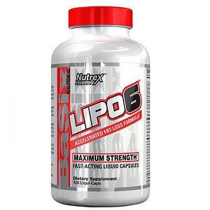 Жиросжигатель Nutrex Lipo-6 Maximum Strenght (120 капсул.) СУПЕР ЦЕНА!!!