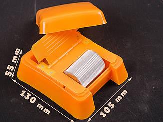 Роликовая ванночка для покраски уреза кожи пластиковая-78-1451